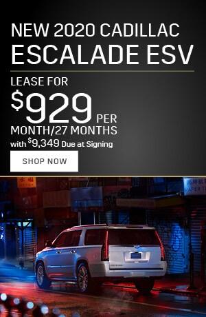 2020 Cadillac Escalade ESV - January Offer