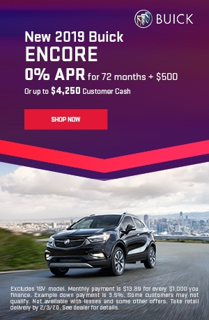 2019 Buick Encore - January Offer