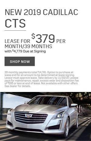 2019 Cadillac CTS - November Offer