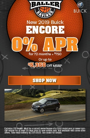 2019 Buick Encore - March Finance Offer