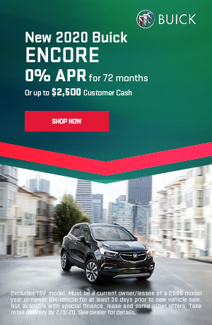 2020 Buick Encore - January Offer