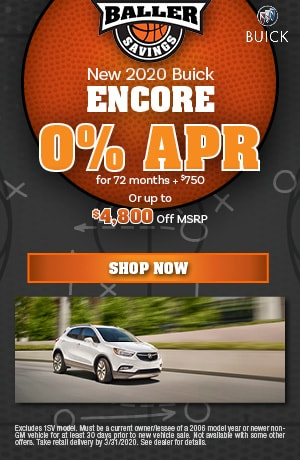 2020 Buick Encore - March Finance Offer