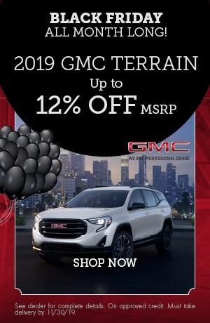 2019 GMC Terrain - November Offer
