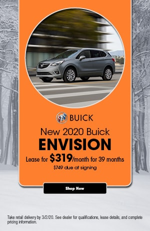 2020 Buick Envision - February Lease Offer