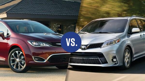 Comparison: 2018 Chrysler Pacifica vs 2018 Toyota Sienna