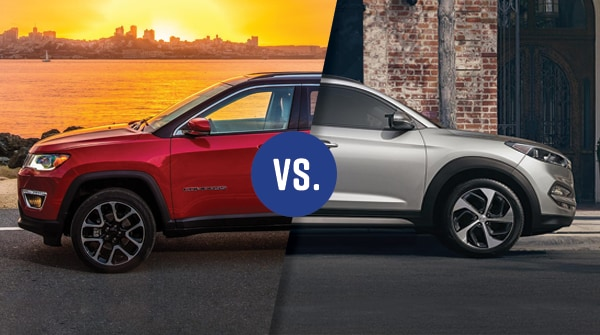 Comparison: 2018 Jeep Compass vs 2018 Hyundai Tucson