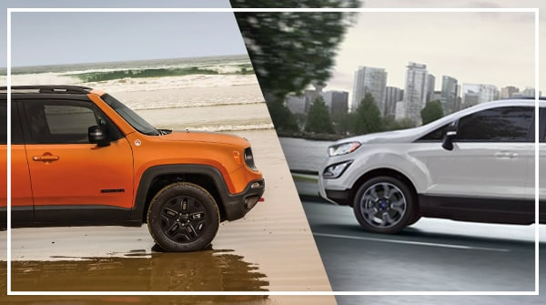 Comparison 2019 Jeep Renegade Vs 2019 Ford Ecosport