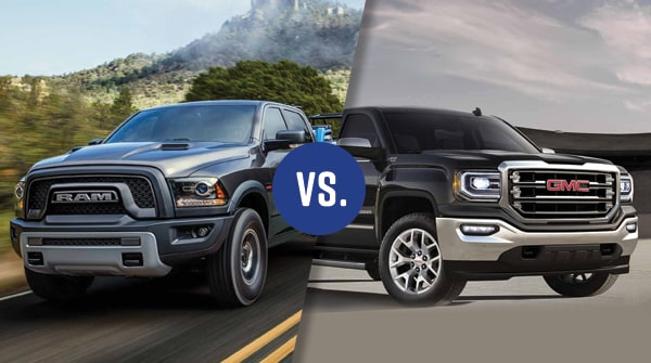 Comparison: 2018 Ram 1500 vs 2018 GMC Sierra