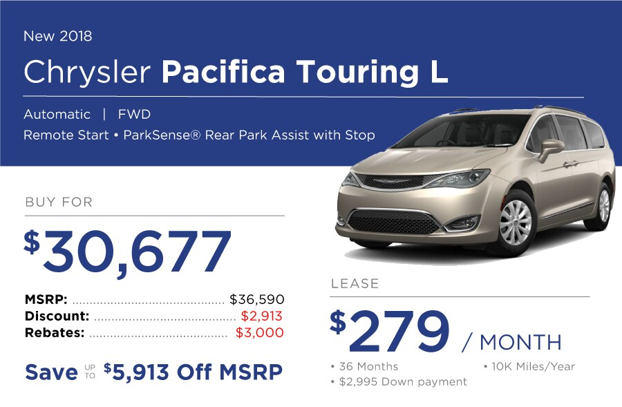 Pacifica Special Offer