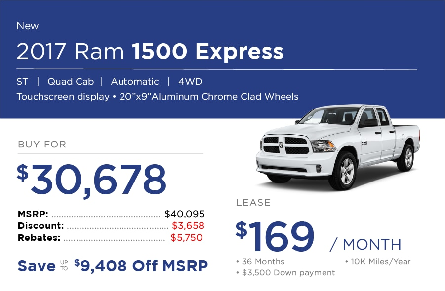 Ram 1500 Special Offer