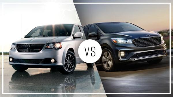 Comparison: 2019 Dodge Grand Caravan vs 2019 Kia Sedona