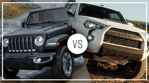Comparison: 2019 Jeep Wrangler vs 2019 Toyota 4Runner