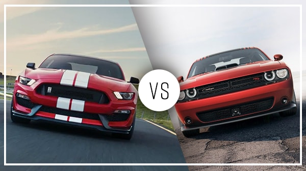 Comparison: 2019 Dodge Challenger vs 2019 Ford Mustang