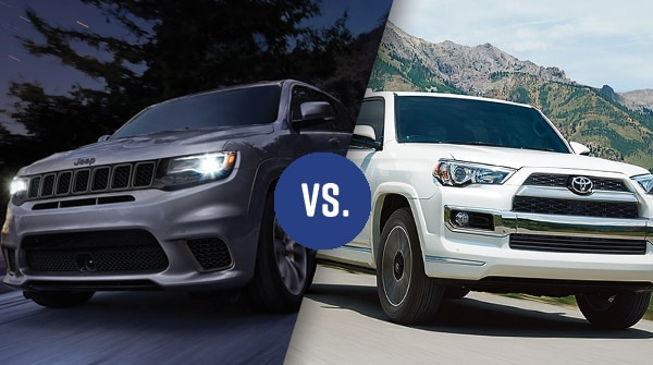Comparison: 2018 Jeep Grand Cherokee Vs 2018 Toyota 4Runner