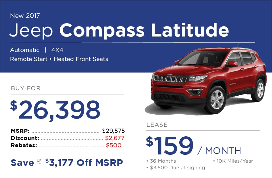 Jeep Compass Special Offer