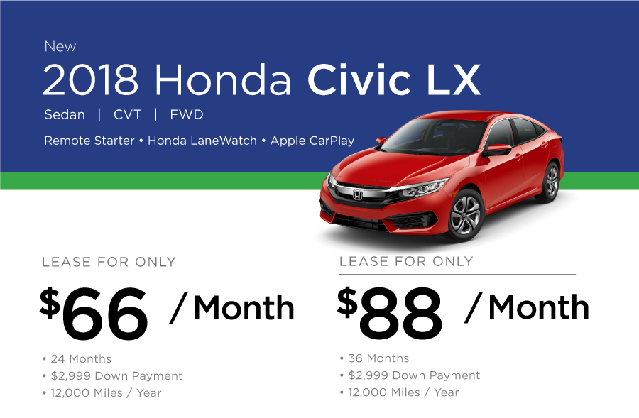 Civic Special Offer