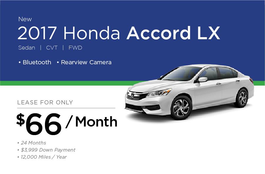 Honda Accord Special Offer