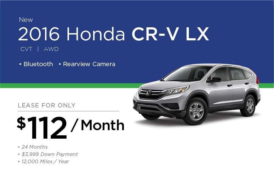 Honda CR-V Special Offer
