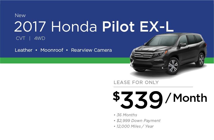 Honda Pilot Special Offer