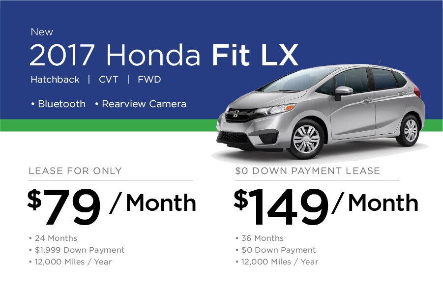 Honda Fit Special Offer