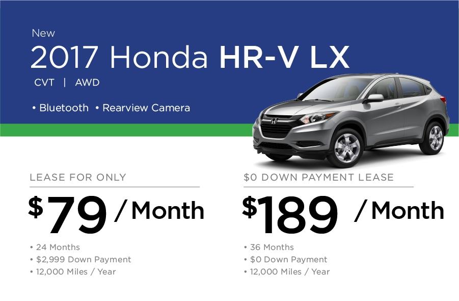 Honda HR-V Special Offer