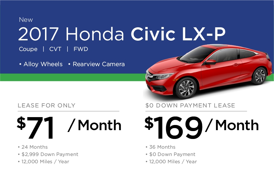 Honda Civic Coupe Special Offer