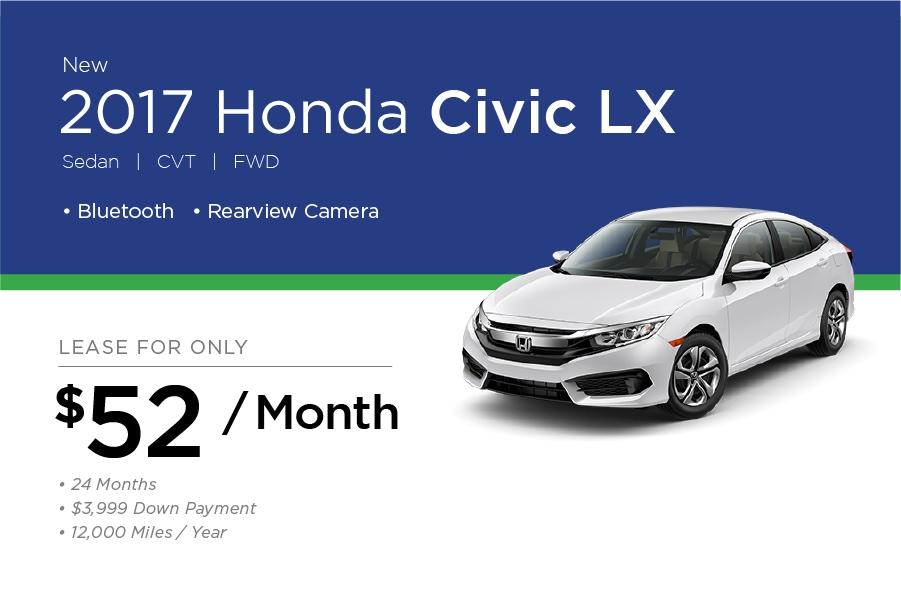 Honda Civic Special Offer