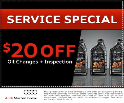 $20 Off Oil Changes + Inspection