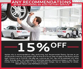 Any Recommendations after Audi Service