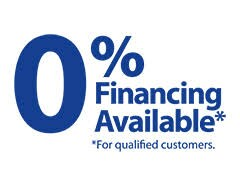 0% financing for all your service needs!!!