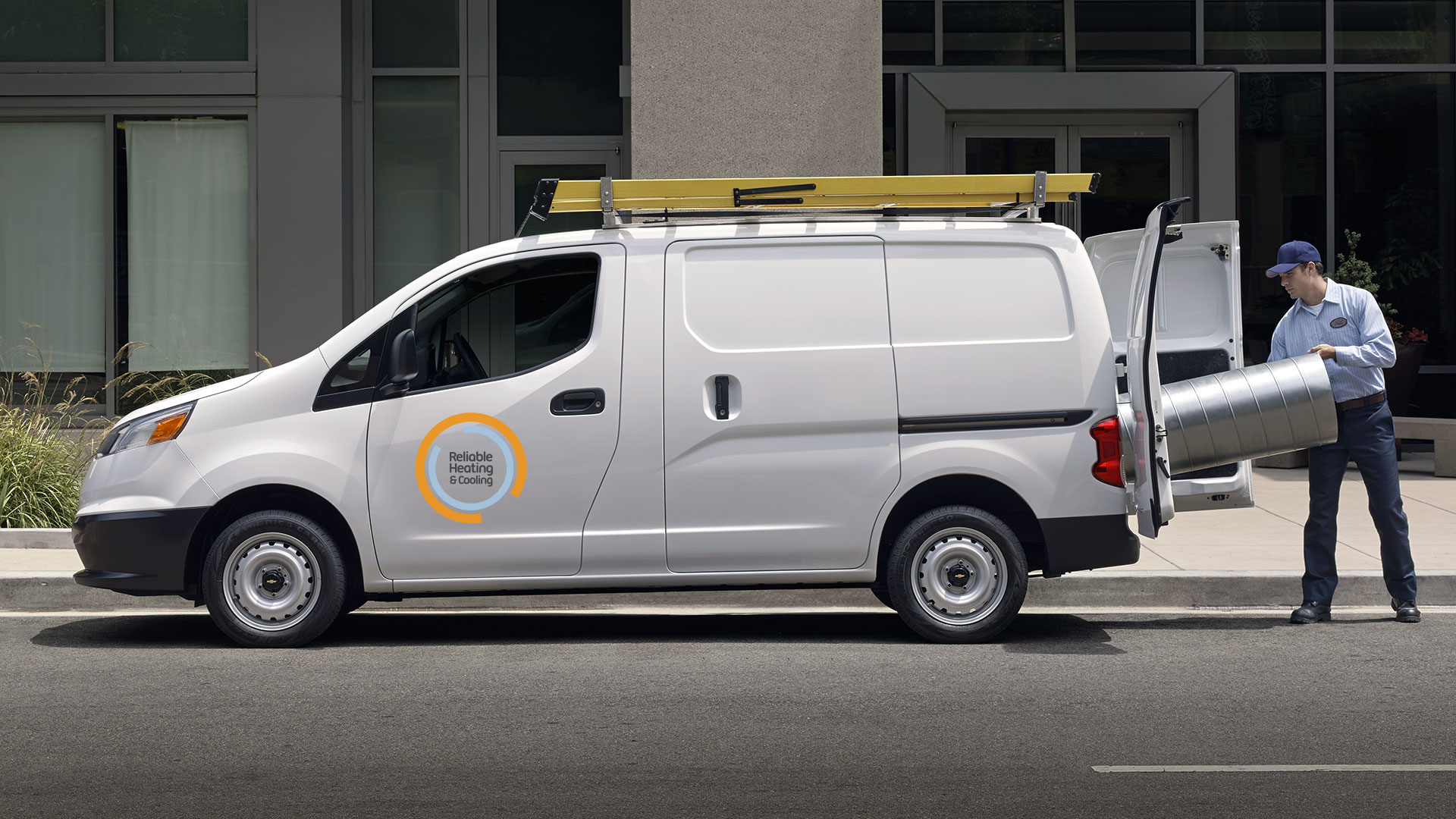 2016 Chevy City Express Commercial Van Exterior