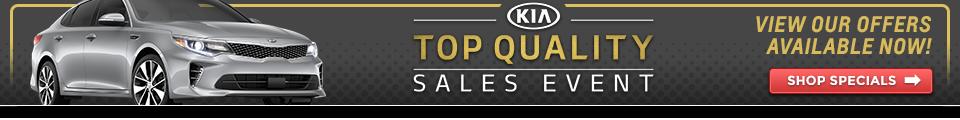 Kia Top Quality Sales Event