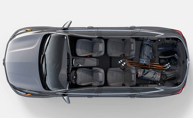 2019 Buick Enclave Sliding Seats and Cargo Space