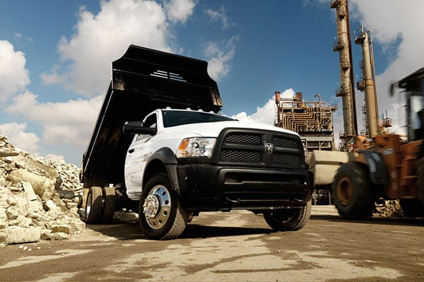 Ram 5500 HD Chassis Exterior Features