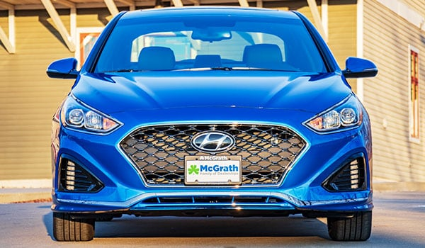 2019 Hyundai Sonata Newly Redesigned Front End