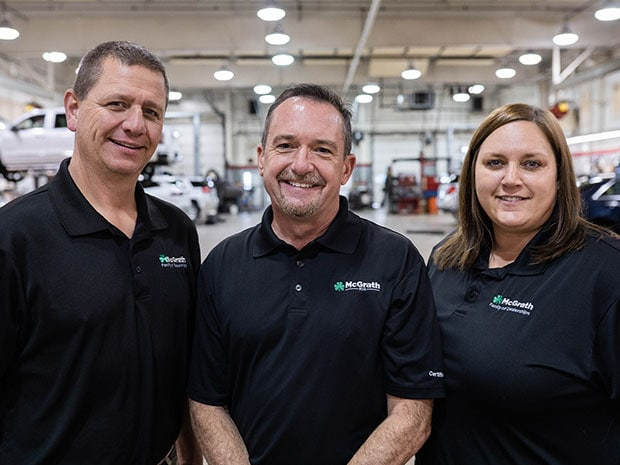 McGrath auto service team