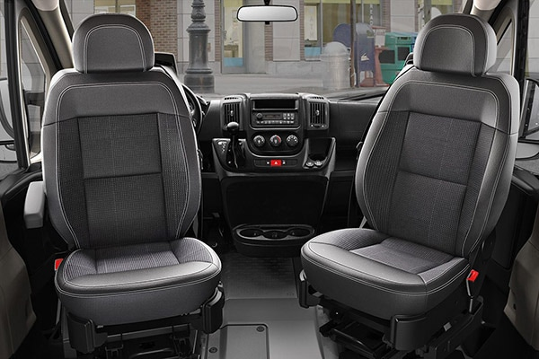 Ram Promaster 3500 Interior Seating
