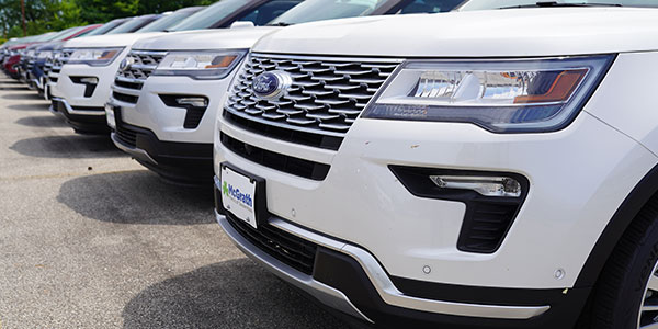 Ford Explorer row