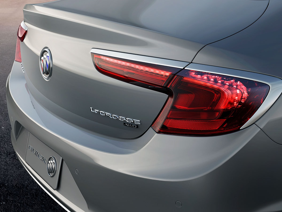 Buick LaCrosse taillamps