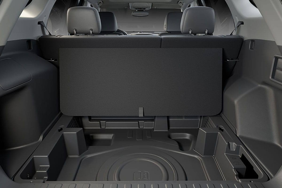 Available trunk space in the 2018 GMC Terrain