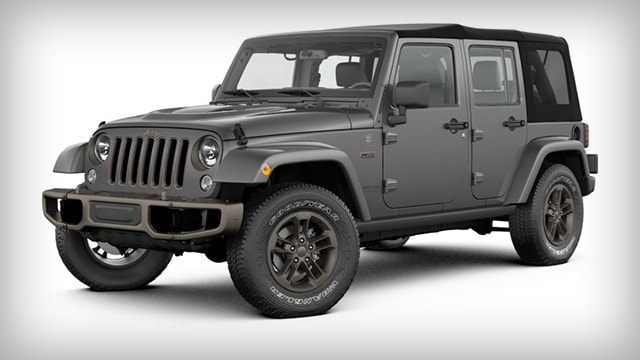 2017 Jeep Wrangler Unlimited 75th Anniversary Limited Edition