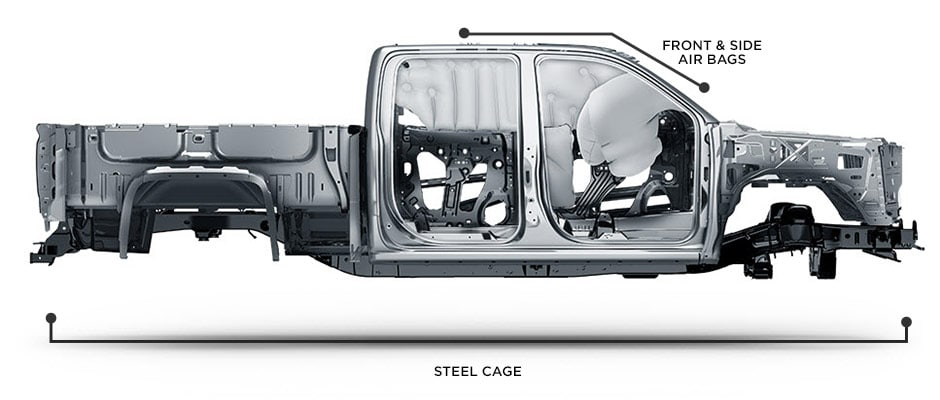 Silverado airbags location