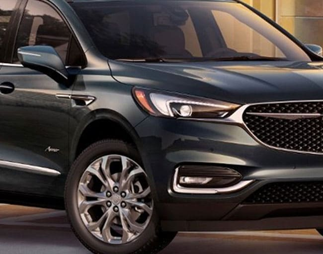 2019 Buick Enclave Winged Lights