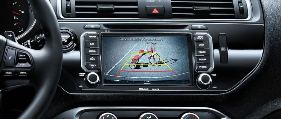 Kia Rio Backup Camera