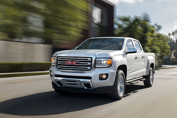 GMC Canyon Safety Features
