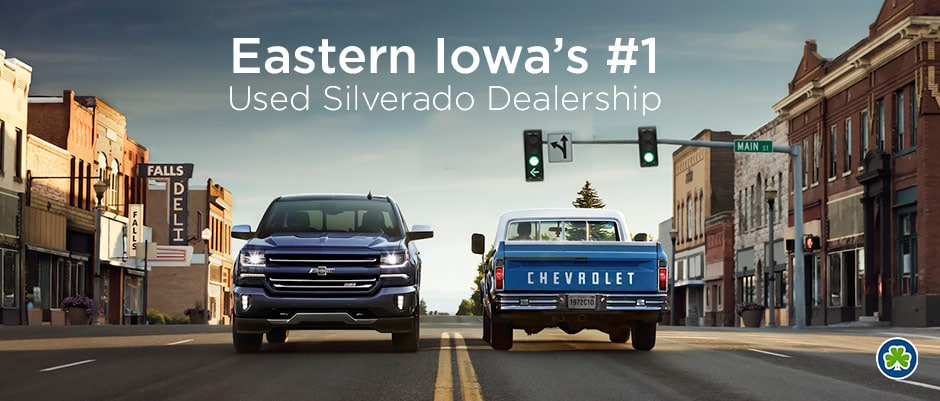 Used Silverado Dealership in Cedar Rapids