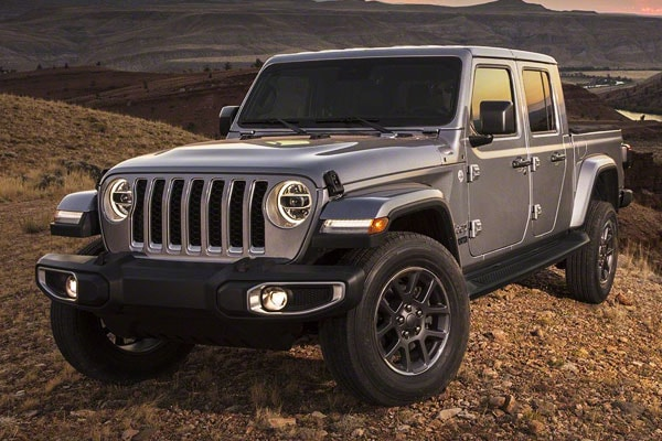 2020 Jeep Gladiator Safety Features