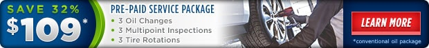 Auto Service Packages