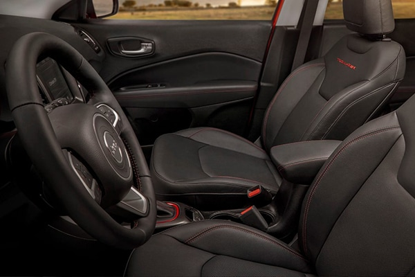 Jeep Compass Interior Seating
