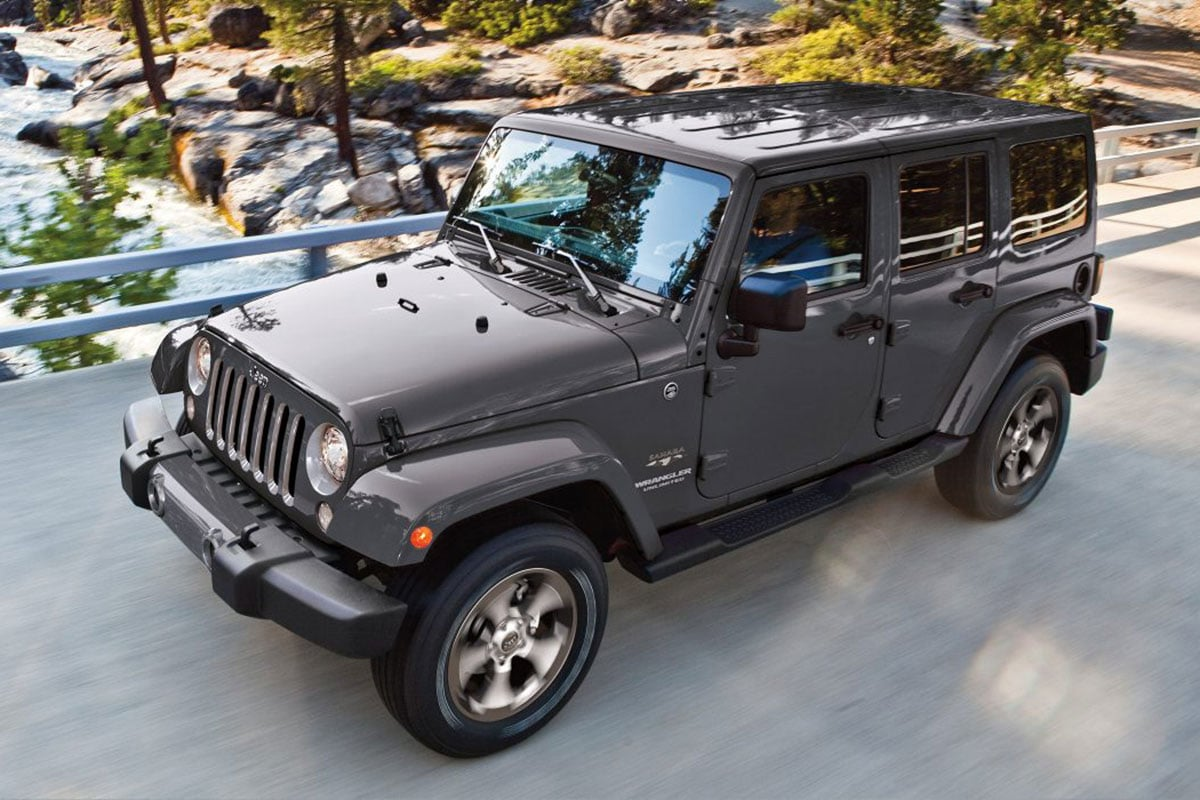 Jeep Wrangler Unlimited Safety Features